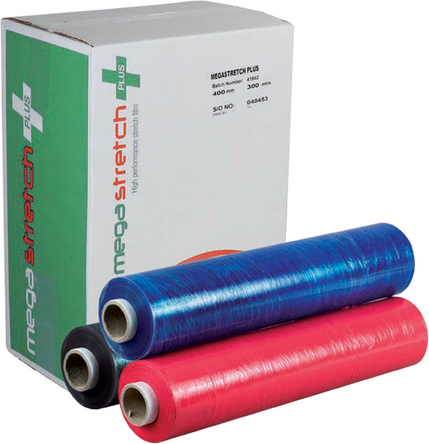 Coloured Pallet Wrapping Film