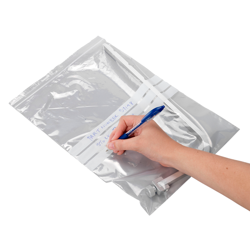 Griplock™ Grip Seal Bags (with write on panels)