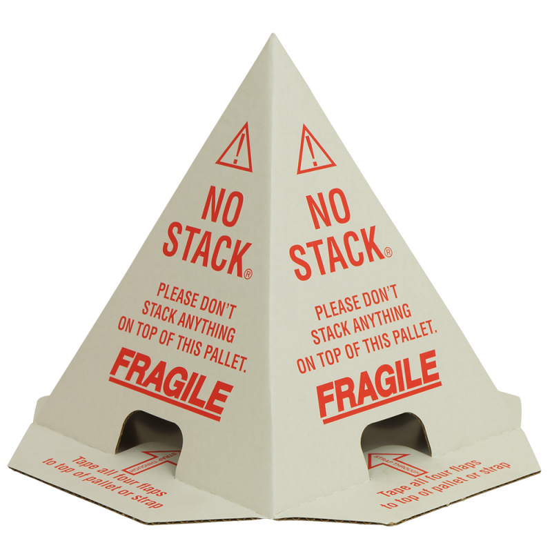 Do Not Stack Pallet Cones