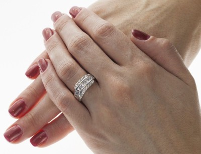 Akciós ezüst gyűrű