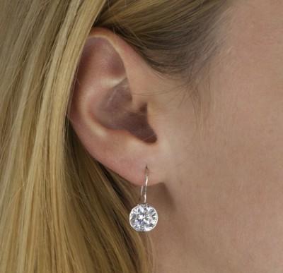 Akciós ezüst fülbevaló